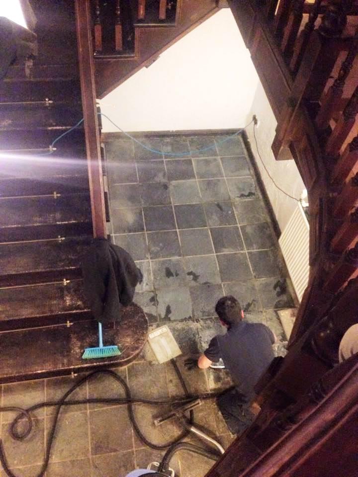 Restoring Slate Floors