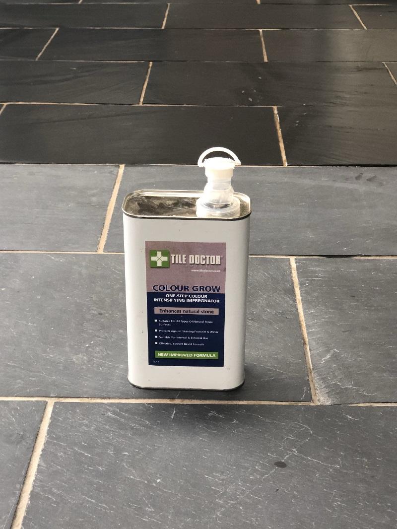 Sealing Slate Tiles