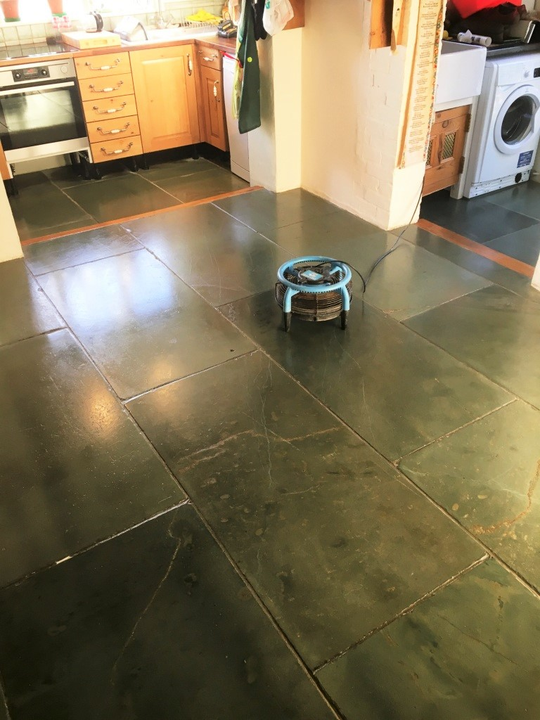 Slate Kitchen Flooring