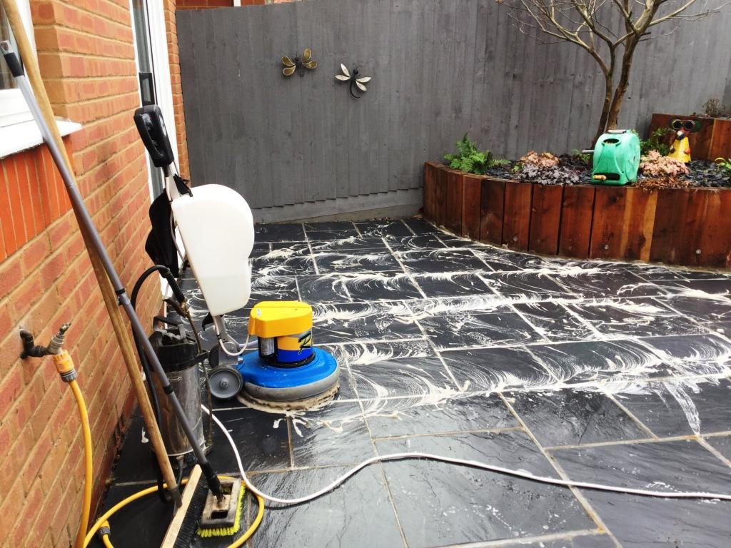 Slate Patio Renovation